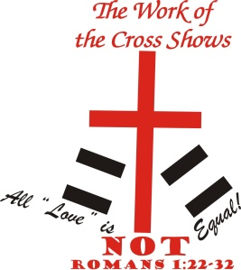 The Cross Shows Love not Equal