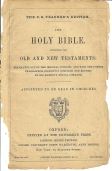 Oxford Bible Title Page